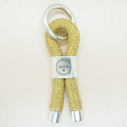 Schlüsselanhänger mit Anker und Segeltau in verschiedenen Farben.